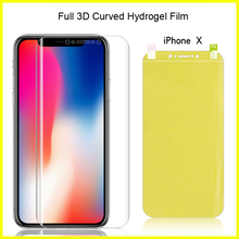 Full Coverage For iPhone 11 Pro Max X XR XS Max 8 Plus Hydrogel Film Soft TPU Screen Protector For iPhone 7 Plus Back Front Film стоимость