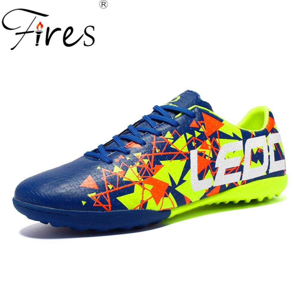 Incêndios Sapatos De Futebol Turf Chuteira Futebol Esportes Dos