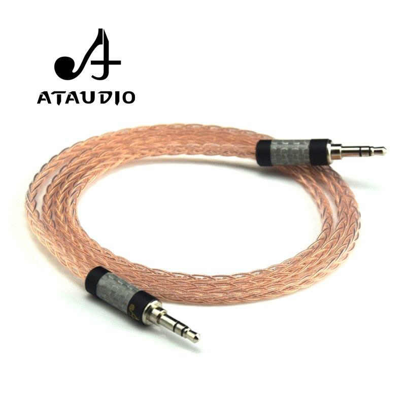 ATAUDIO Hifi 3,5mm Klinke Stereo Aux Kabel Hallo end Reine Occ 3,5mm Stecker auf Stecker Audio kabel auf AliExpress - 11.11_Doppel-11Tag der Singles 1
