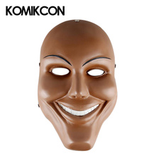 The Purge Cosplay Mask God Cross Scary Resin Masks Halloween Party Full Face Adults Props Horror Movie Masque Accessories