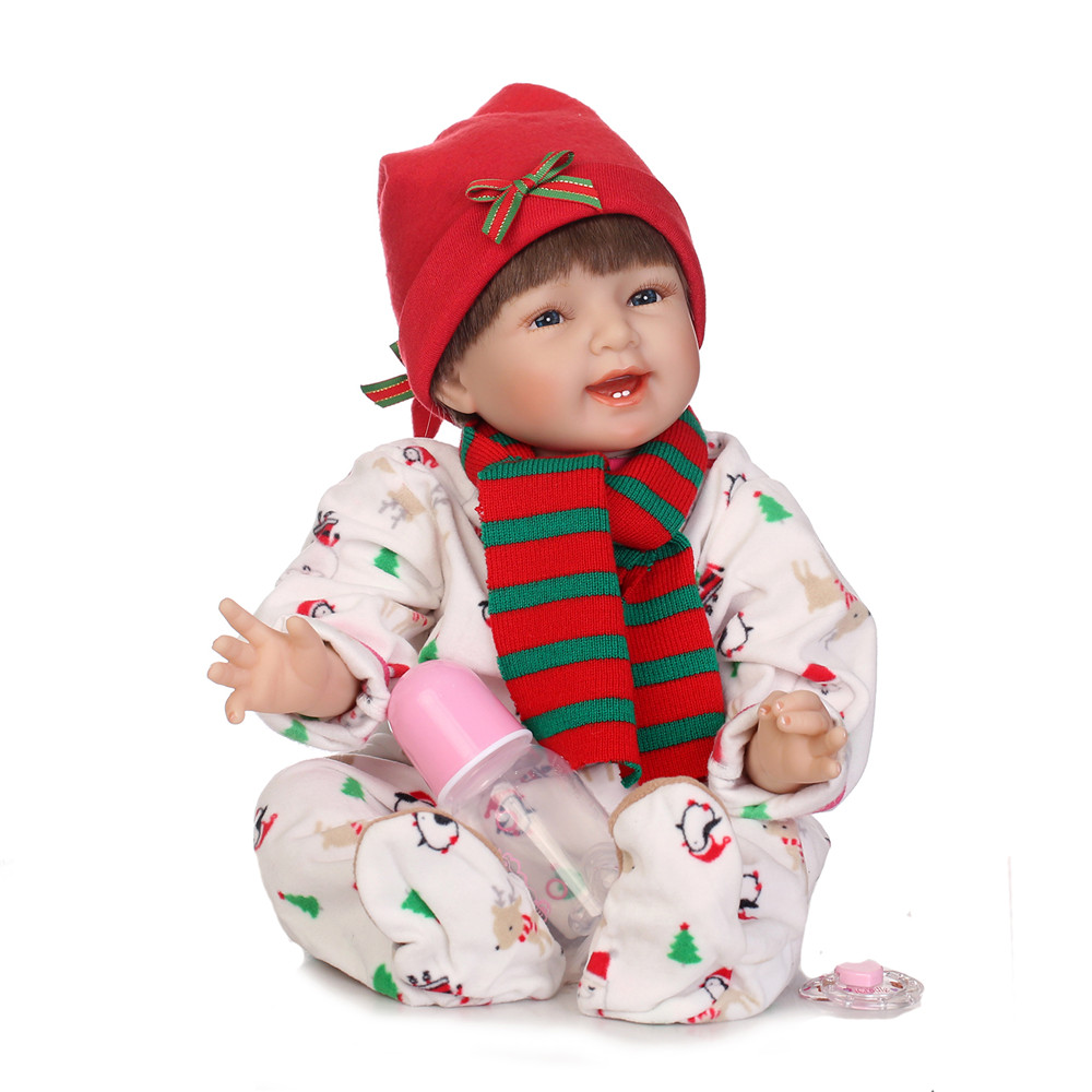55cm New NPK Silicone Reborn Babies Princess Dolls Toddler Vinyl Simulated Doll Reborn Christmas Gifts Cotton Body Baby Alive 55cm New NPK Silicone Reborn Babies Princess Dolls Toddler Vinyl Simulated Doll Reborn Christmas Gifts Cotton Body Baby Alive