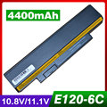 Batería para lenovo thinkpad x121e x130e e120 30434nc 30434sc borde E120 E125 E130 E135 E320 E330 FRU 42T4961 42T4947 ASM 42T4958