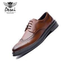 6ddf33253 Корейская версия из Повседневное простой остроносые туфли Британский Стиль  Обувь в деловом стиле Для мужчин формальные
