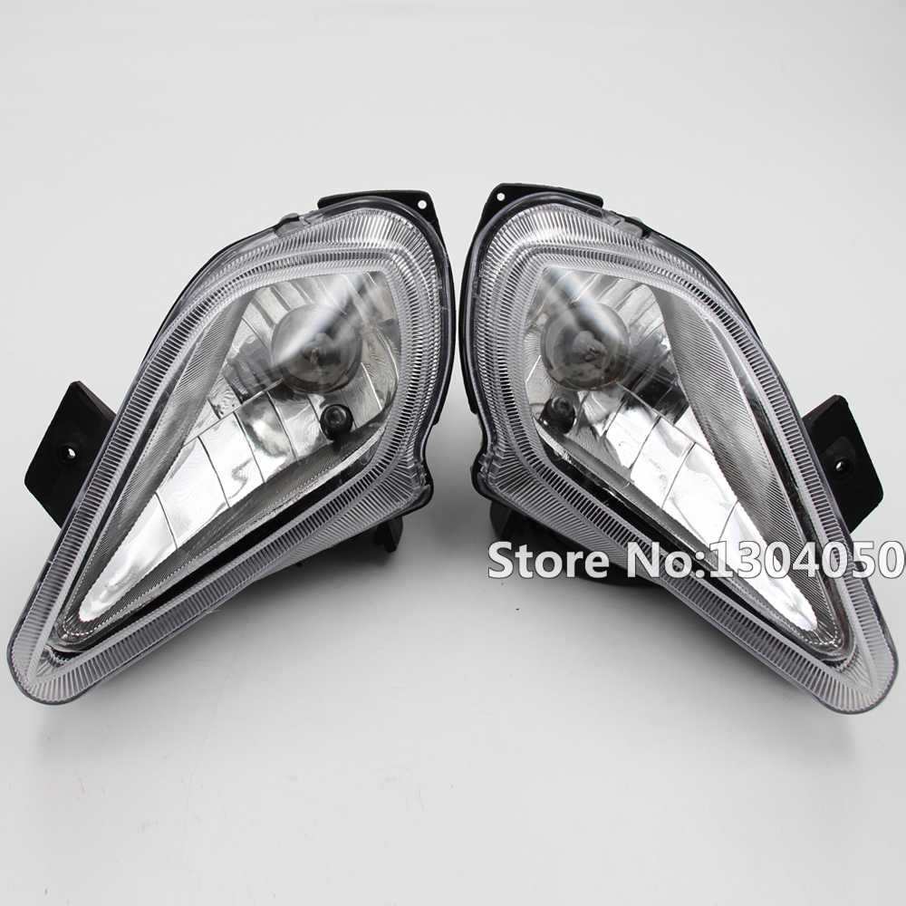 2pcs Motorcycle Atv Quad Head Lights Lamps Headlight For 110cc 125cc 200cc Durable Modeling Atv,rv,boat & Other Vehicle