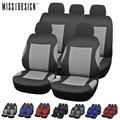 Universal Estilo de Moda conjunto Completo y 2 asientos delanteros Cubierta de Asiento de Coche Cubierta Del Coche Auto Accesorios Interiores de Automoción
