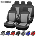 Universal Moda Styling conjunto Completo e 2 assentos dianteiros Tampa de Assento Do Carro Tampa Do Carro Auto Acessórios Interiores Automotivos