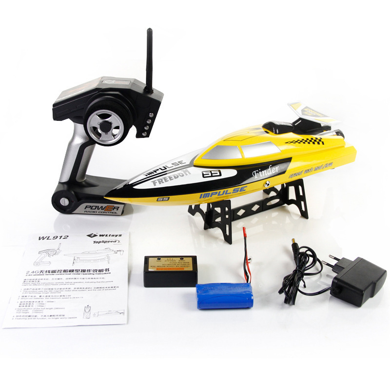 Weili charging speed 2 4G remote control boat remote control boat race water cooled high end