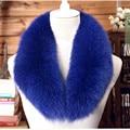 Real Fox Fur Collar Winter Warm Genuine Fox Fur Scarf Collar for Coat Cap Wool Top Fox Fur Collar Whole Fox Fur Collar S#25