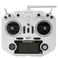 High Quality FrSky ACCST Taranis Q X7 2 4GHz 16CH Transmitter White Black RC Controller For