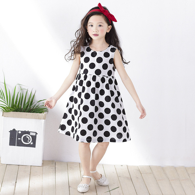 Aliexpress.com : Buy 2017 Summer Little Junior Girls Black White ...