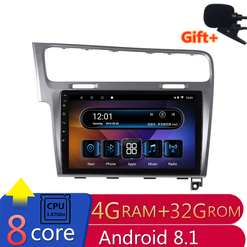 10 4G RAM 2 5D IPS 8 cores Android 8 1 Car DVD Multimedia Player GPS