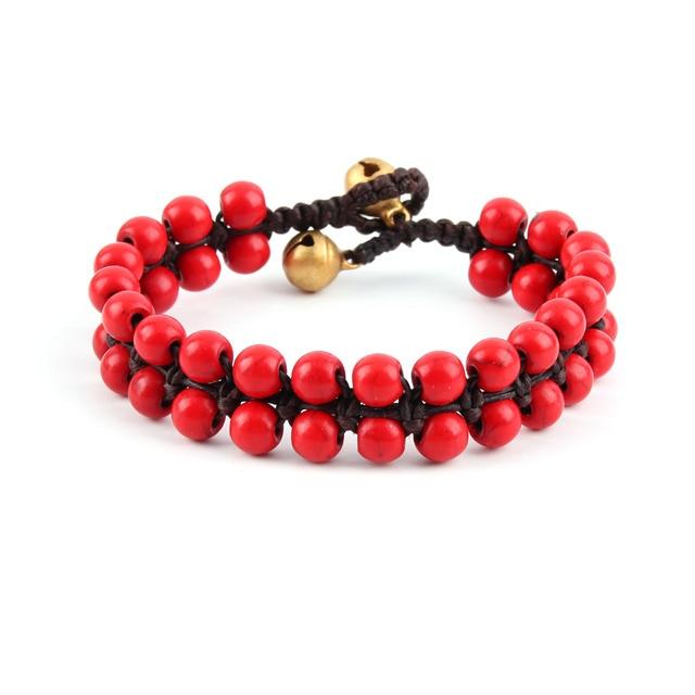 Bracelet Macramé Perle