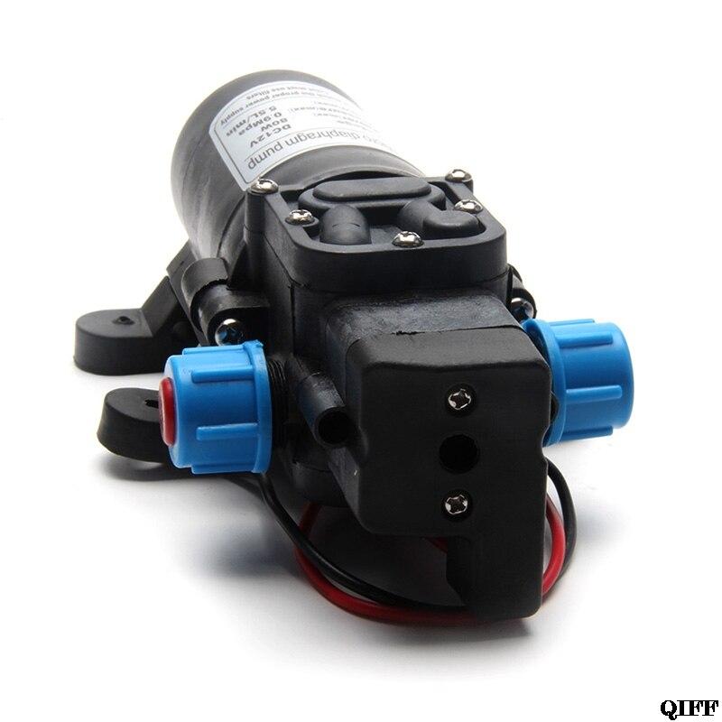 Heimwerker SchöN Motor Hochdruck Dc 12 V 70 W 0142 Membran Wasser Selbst Pumpe 6l/min Mar28