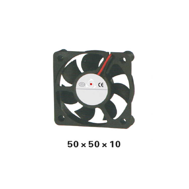 5pcs/ lot 50series Airflow Fan DC12V Axial 50x50x10mm CUP Cooler Brushless DC Cooling for Electric Cabinet XFS5010