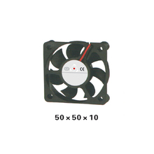 5pcs/ lot 50series Airflow Fan DC12V Axial Fan 50x50x10mm CUP Cooler Axial Brushless DC Cooling Fan for Electric Cabinet XFS5010 все цены