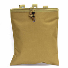 29x25cm Molle Tactical Magazine Dump Pouch Recovery Bag For Hunting Airsoft Waterproof 100