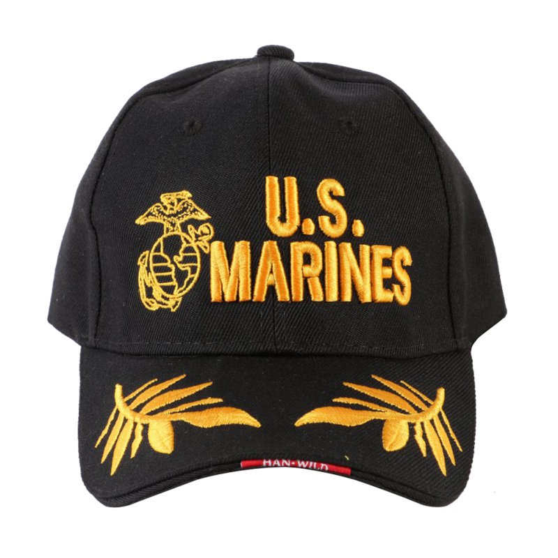"Embroidery Letter ""Marines"" Baseball Caps Cotton Fitted Tactical Casual Cap S4"