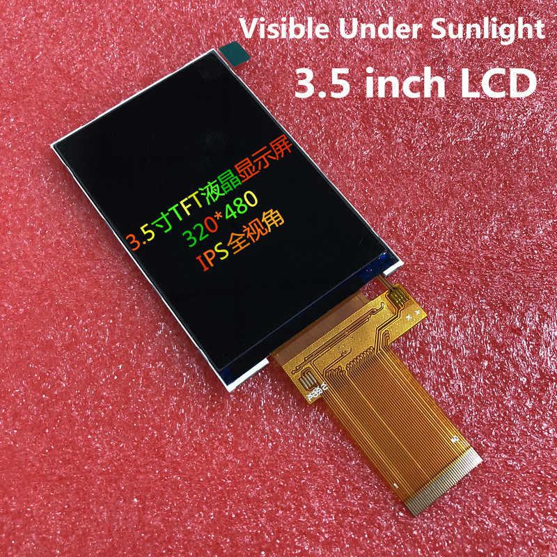 3.5 بوصة TFT شاشة الكريستال السائل شاشة R61529A 40PIN المقبس 320RGB * 480 تسليط الضوء الخلفية المقاومة السعة لوحة اللمس TP