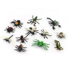 ABWE Best Sale Children s toys insect animal model set 12 pcs Multicolor