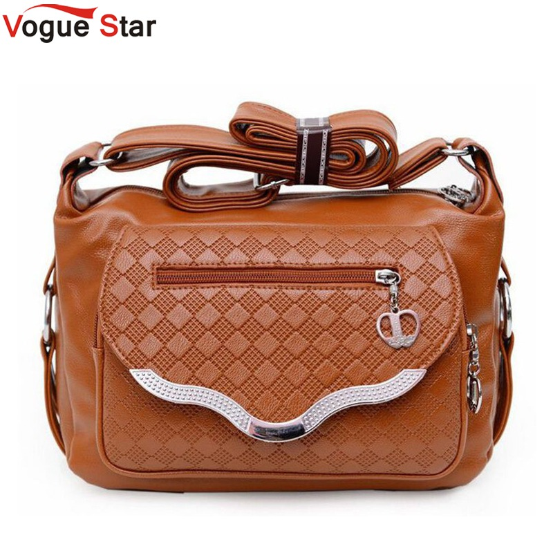 Vogue Star women messenger bags leather handbag mid-age models shoulder bag crossbody mom handbags popular bag YB40-320
