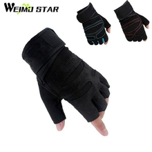 WEIMOSTAR Team Cycling Gloves Half Finger Bike Ciclismo Bicycle Gloves Pad Racing Gloves Gel Breathable Short