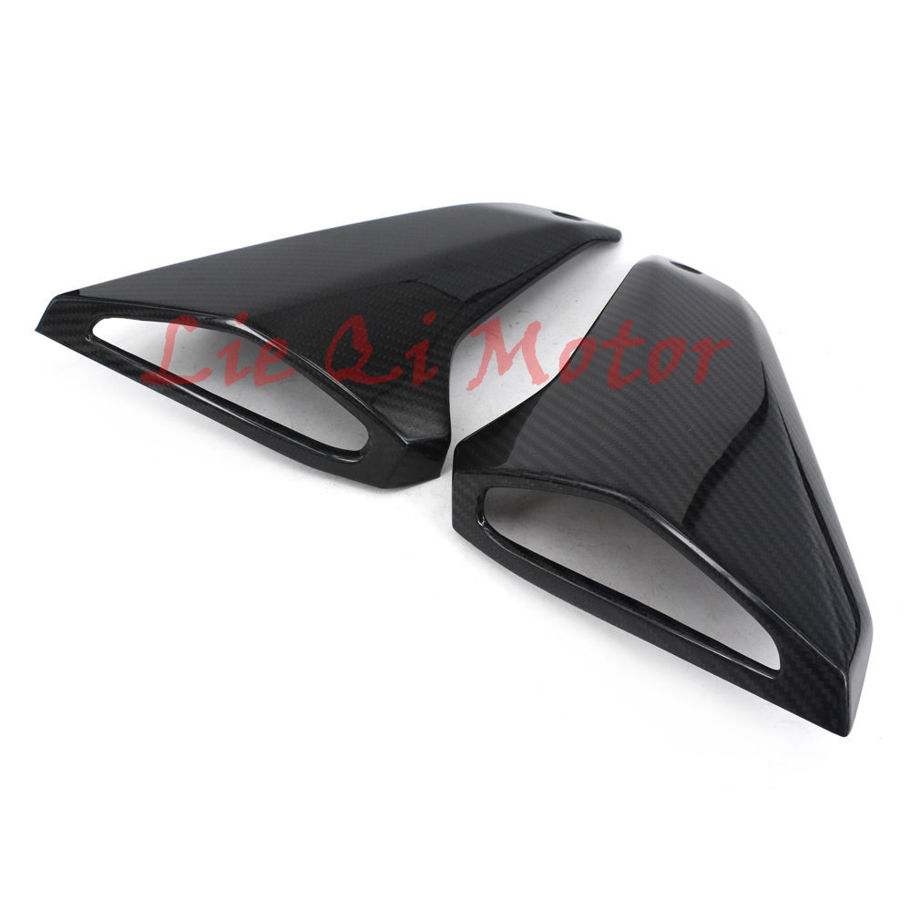 Motocross Carbon Fiber Gas Tank Side Cover Trim Fairings Protection Cover For Yamaha MT-09 FZ-09 MT09 FZ9 2014 2015 2016 детство отрочество повести