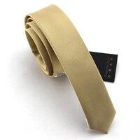 Top Quality 2016 New 4CM Slim Tie Men Ties for Men Gravata Slim Neckties Men's Silk Necktie Fashion Ties for Men Skinny Tie