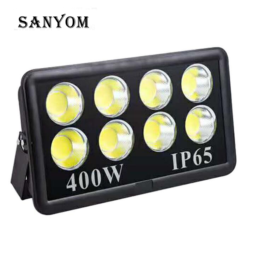 LED Flood Light Outdoor Lighting Projector Reflector Outdoor Wall Waterproof Garden Square LED Spotlight 500W 100W Floodlight