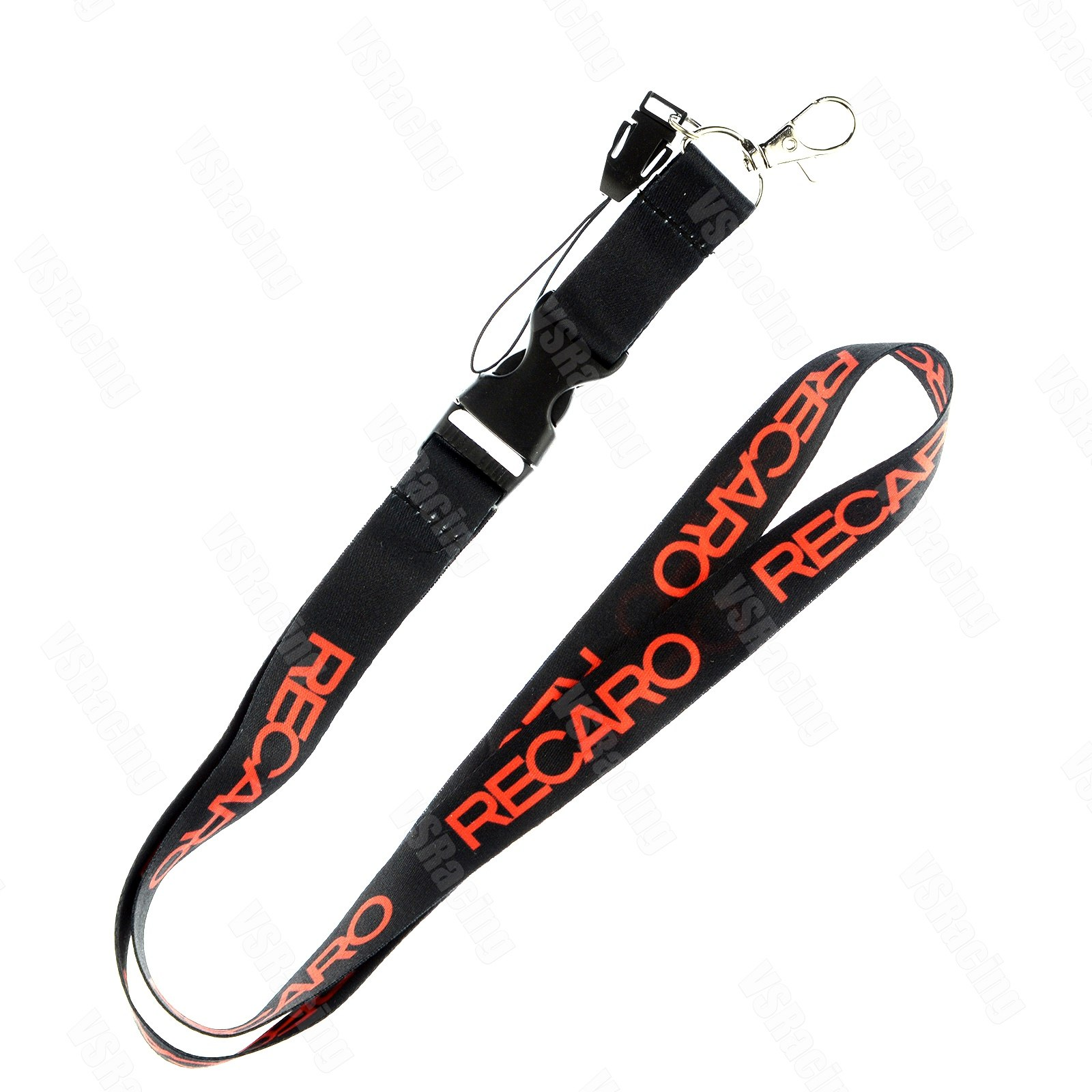 50 x Car Logo Lanyard Detachable Keychain Strap Badge ID Running Cell Holder