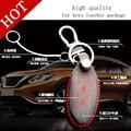 fashion genuine leather smart Car key cover for Chun novel Wallets new Teana Tiida Qashqai sunlight  Sylphy Loulan keychain ring