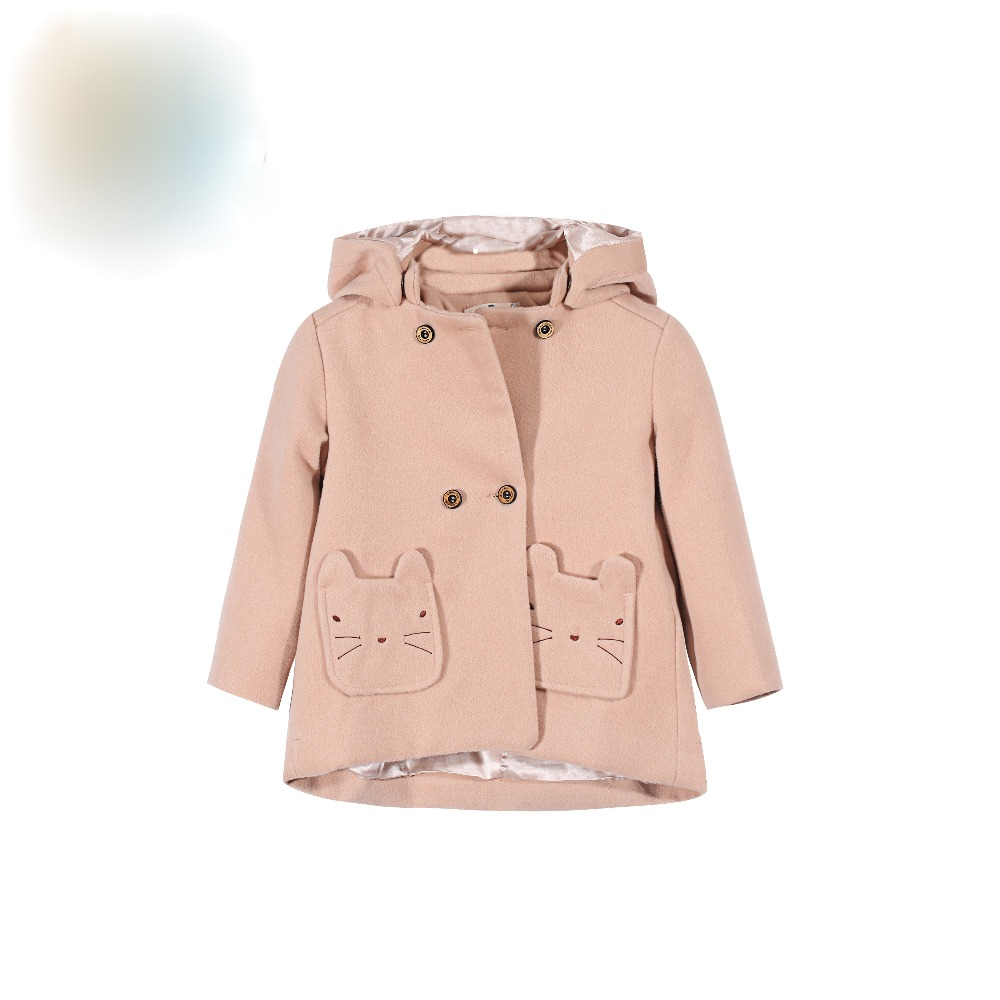 2016 Girls Cartoon coat&Outwear Baby girls winter thick warm jacket Girls Winter children clothing inverno girls outwear children girls fashion winter coat