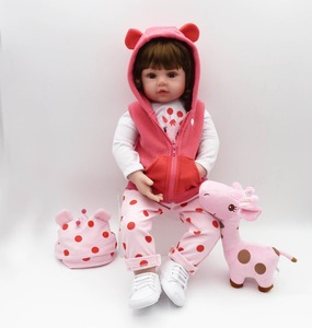 Image 3 - NPK Muñeca de bebé Reborn de silicona suave, muñeca de bebé realista para niños pequeños, regalo de cumpleaños