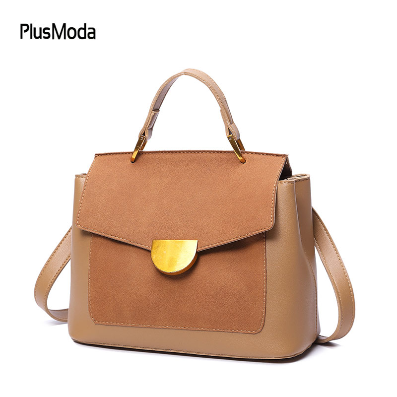 2018 New Fashion Women Handbags High Quality Shoulder Bags Nubuck Vintage Womens Handbags Wome Messenger Bags Crossbody Purse