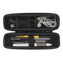 Жесткий чехол из искусственной кожи, USB флеш-накопитель, органайзер для хранения, записывающая ручка m2 SSD, сумка, банковский ключ, кабель для зарядного устройства, электронная сигарета