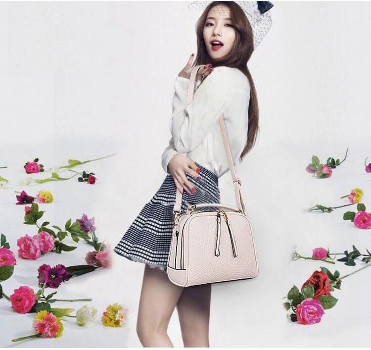 2015 Autumn New Arrival Women Weave Tassel Women PU Leather Handbags Women Shoulder Bag Ladies Casual Messenger Bags BH1150 (2)