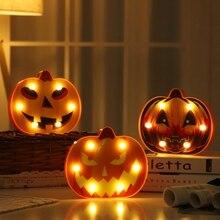 купить New Halloween Decor Night Lights For Indoor Outdoor Halloween Party Festival Lighting Spider/Bat/Pumpkin/Skull Battery Powered по цене 309.37 рублей