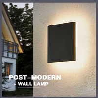 Waterproof Outdoor Lighting Modern Wall Light Outdoor LED Lamp Courtyard Exterior Sconce Walkway Porch Garden Light Wall IP54