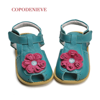 COPODENIEVE Summer Beach Boy Sandals Kids Genuine Leather Shoes Fashion Sport Sandal Children Sandals Boys Leather