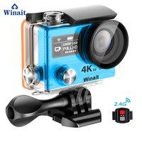 Winait Ultra HD 4 К действие A12 4 К 3fps 2.0 ЖК дисплей Дисплей карман Спорт камеры Mini DVR 30 м Водонепроницаемый карты памяти максимум до 32 ГБ