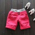 6pcs 1/lot Children shorts Boys baby Anchor embroidery fishbone shorts wholesale 2017