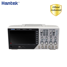 Hantek DSO4104C ملتقط الذبذبات الرقمي 4 قناة 100Mhz عرض النطاق الترددي الكمبيوتر Osciloscopio المحمولة شاشة الكريستال السائل USB الذبذبات