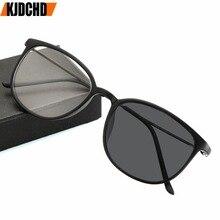1.0to 4.0 태양 광 변색 완료 근시 안경 학위 광학 눈 안경 프레임 여성 남성 안경 학위 oculo