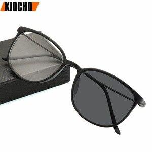 Image 1 -  1.0to 4.0 الشمس فوتوكروميك الانتهاء قصر النظر النظارات مع درجة العين البصرية إطارات النظارات للنساء الرجال النظارات درجة كوة