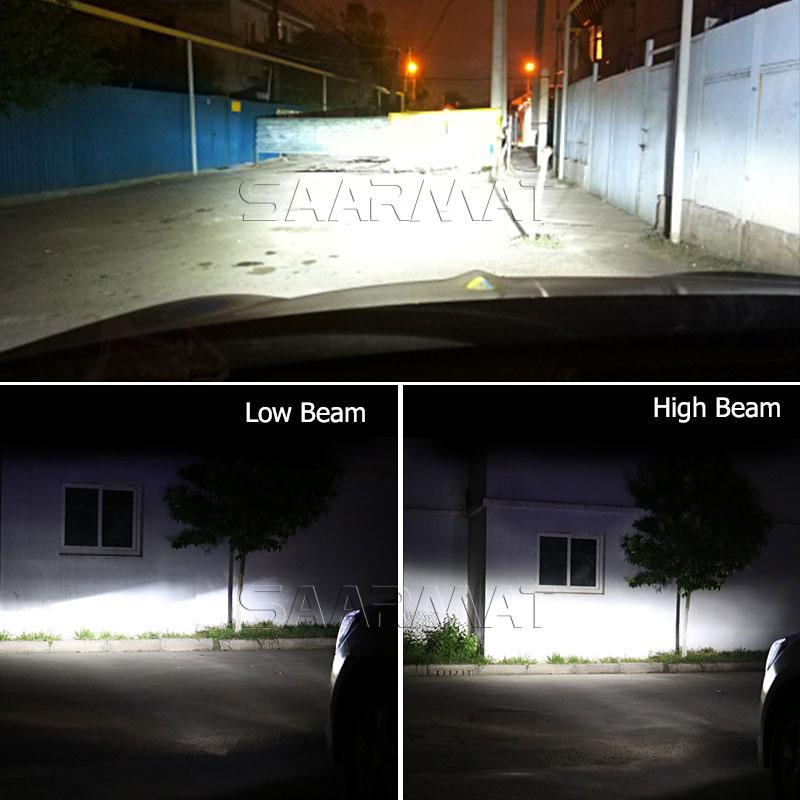 2 x Auto Headlight Bulb H7 LED Tailor-made Daya Tinggi 96 W 9600lm - Lampu mobil - Foto 6