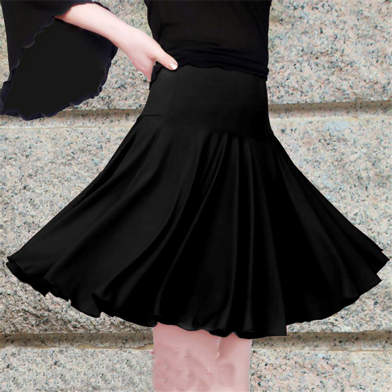 New Latin Skirts Women Lady Dance Costumes Stage Performance Skirt Adult Female Dancing Dresses Practice Skirts Dancewear