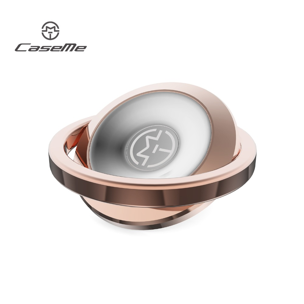 CaseMe phone holder for iphone 6 7 7plus Metal magnetic ring for samsung galaxy s8 s8plus Universal Mobile phone stand function
