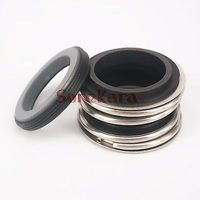32mm Inner Diameter Mechanical Water Pump Shaft Seal Single Coil Spring Silicon Carbide Vs Silicon Carbide