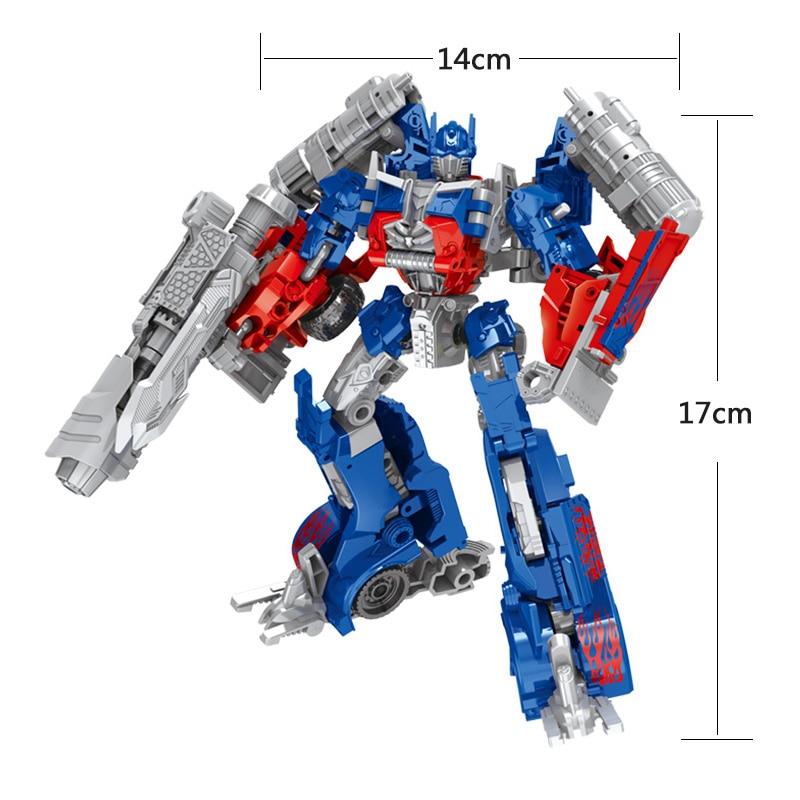 Ny Transformation Anime Series action figur Leker 2 størrelse Robot - Toy figurer - Bilde 5