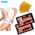 50 Pcs Sumifun Thinness Slimming Patch Weight Loss Anti-Cellulite Massage Fat Burning  Medicated Plasters Beauty C054