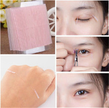 46Pcs Invisible Fiber Double Side Adhesive Eyelid Stickers Technical Eye Tapes Eyelid Tools